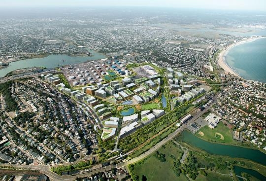 Suffolk Downs Master Plan