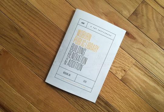CBT Sketchbook No. 1: Woburn Public Library Building Renovation & Addition