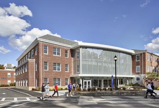 Curry College-Science and Integrated Learning Commons