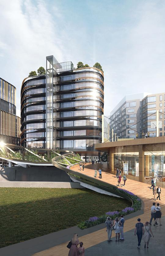 Conceptual Urban Lab/Office Design