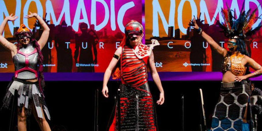 "CBT's ""Nomadic Couture"" Honored at IIDA NE Fashion Show"