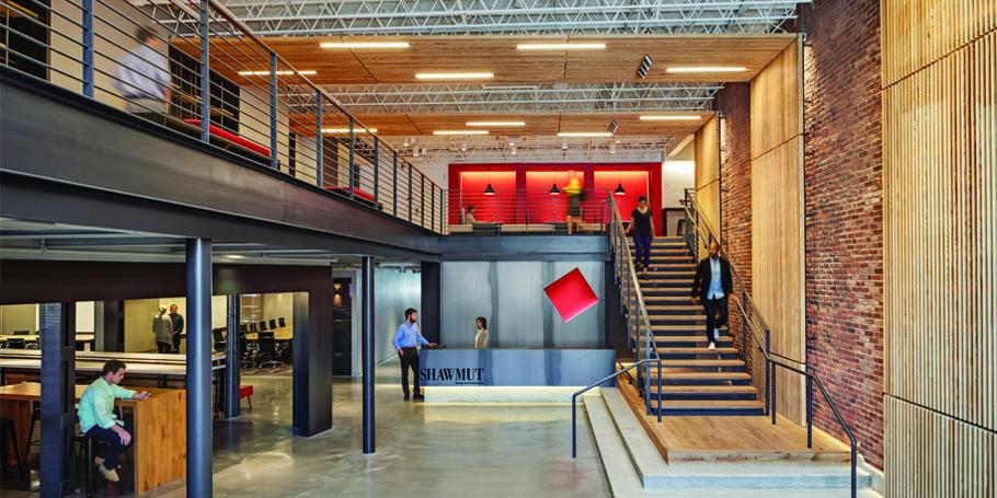 Shawmut Design + Construction Headquarters