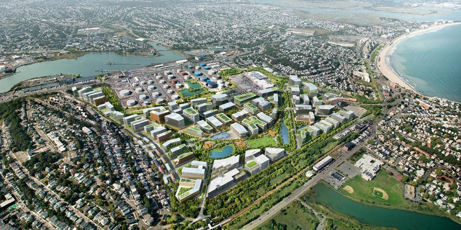 Suffolk Downs Master Plan