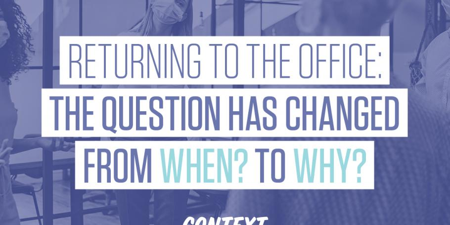 Why will employees return to the office?