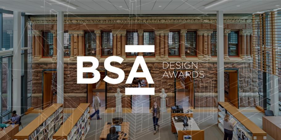 Woburn Library Wins BSA Award for Design Excellence